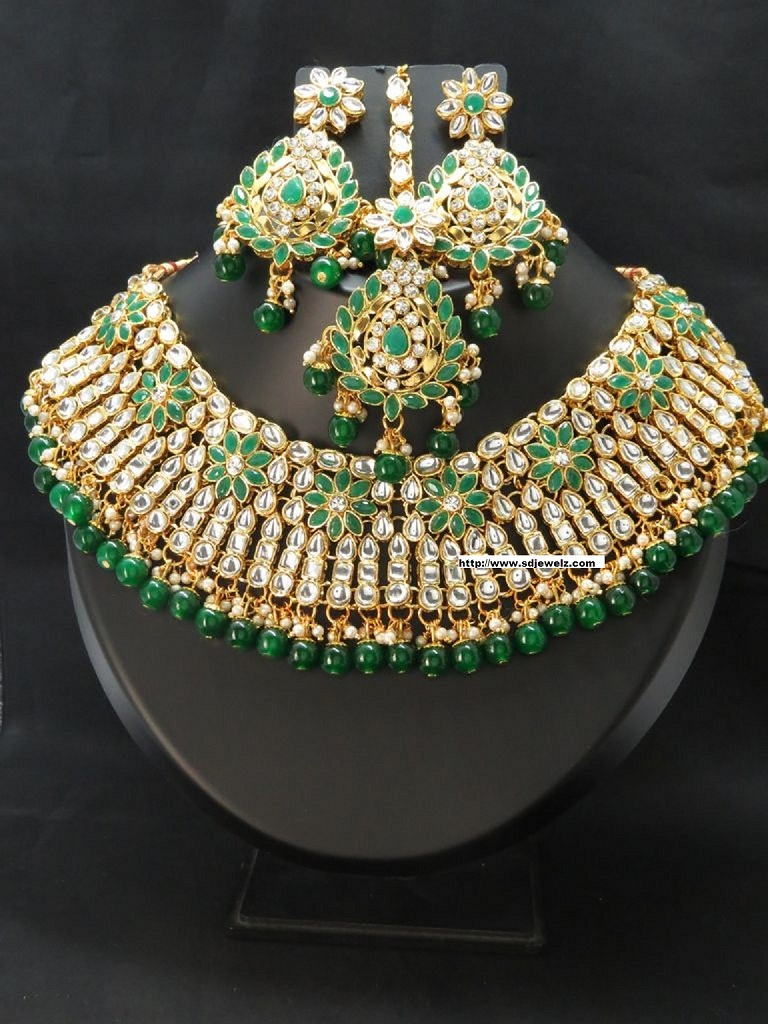 kundan necklace set cheap