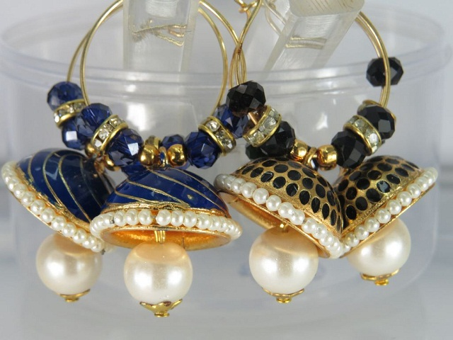 combo pair of jhumka earrings