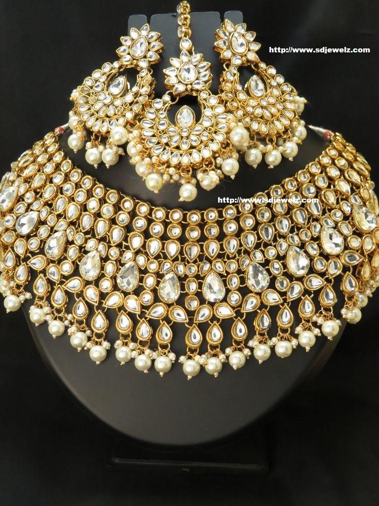 kundan necklaces set